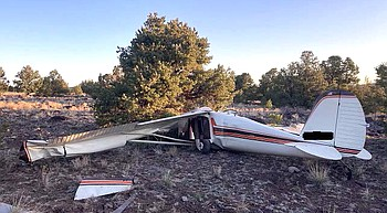 Plane crash claims 2 near Williams airport photo