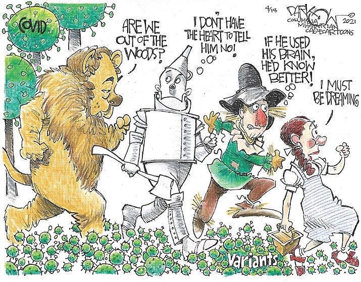Editorial Cartoon | April 21, 2021