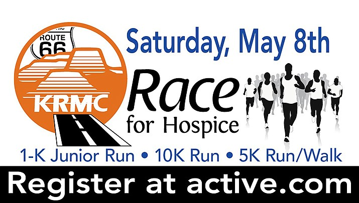 The annual Race for Hospice is set for Saturday, May 8 in downtown Kingman. (KRMC courtesy illustration)