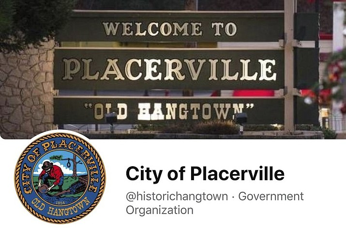 "This image from the City of Placerville's Facebook page shows the town's logo that includes a noose. The California Gold Rush town of Placerville will change its logo to remove a noose that stems from its mid-19th century reputation as ""Hangtown"" following lynchings of criminal suspects by mobs of miners. The City Council voted this month to remove the noose after listening to emotional comment from residents. (City of Placerville/Facebook via AP)"