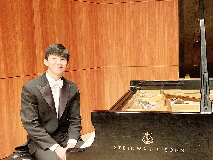 Guest artist Samuel Xu will perform the Clara Schumann Piano Concerto with the Verde Valley Sinfonietta May 2 in the Sedona Performing Arts Center at 2:30 p.m.
