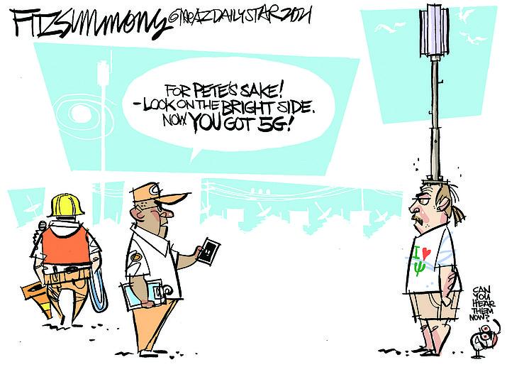 Editorial cartoon (1): April 21, 2021