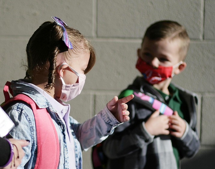 Monday, Gov. Doug Ducey rescinded his mandate for face coverings in schools. Cottonwood-Oak Creek Superintendent Steve King said that the district's COVID-approved mitigation plan would continue. VVN/Bill Helm