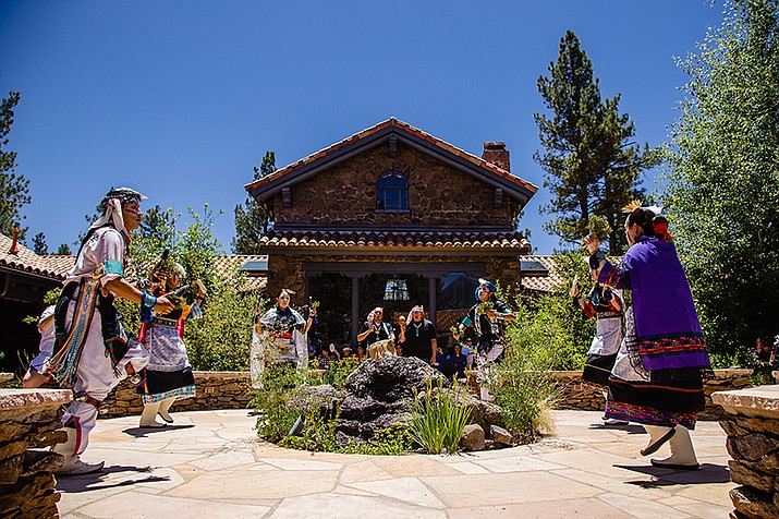 The Summer Heritage Festival will take place four weekends in July. Above: Dancers perform at the Museum of Northern Arizona in a previous year. (Photo courtesy of the Museum of Northern Arizona)