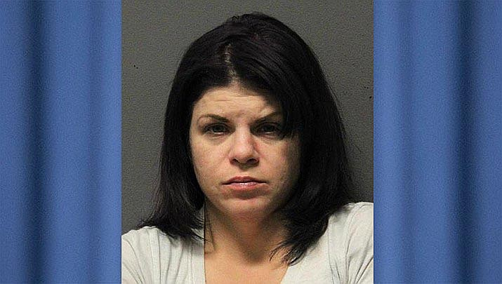 Nicole Lynn Weil, 35, of Prescott, was arrested by U.S. Marshal's in Tampa, Florida, after a probation violation warrant was issued stemming from her conviction of providing narcotics to students and staff members at Mingus Mountain Academy in Prescott Valley back in 2017. Courtesy of Yavapai County Sheriff's Office