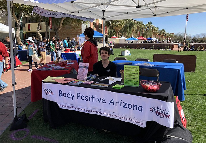 """""""I think there is starting to be this recognition and movement of diversity and celebrating diverse bodies,"""" says Lisa MacDonald, who  directs the student-led Body Positive Arizona. (Photo courtesy of Lisa MacDonald/University of Arizona)"""