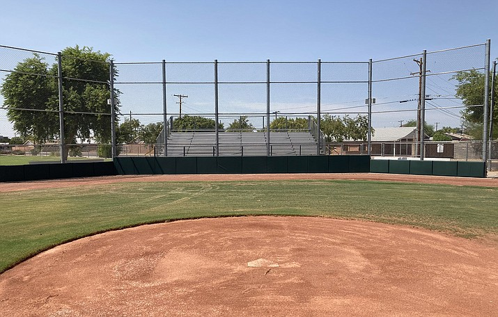 """Coronado High School's baseball and softball fields are each receiving much-needed facelifts thanks to a grant from the Diamondbacks and their """"Chase Your Dreams"""" program. (Photo courtesy of Coronado High School)"""