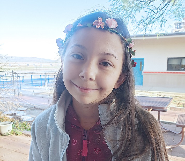 Aisely Nelson of Del Rio School is the Chino Valley Unified School District Student of the Week for April 29, 2021. (Courtesy)