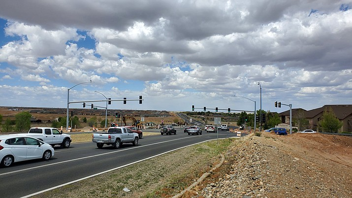 The Town of Prescott Valley has announced the installation of new traffic signals at the Glassford Hill Road-Spouse Drive intersection. (Doug Cook/Tribune)