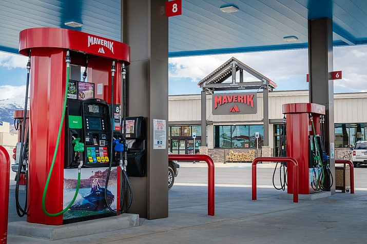 Maverik gas and convenience store is building a new location to the south of its current store on Highway 69 at Prescott Country Club Boulevard. (Photo courtesy of Maverik)