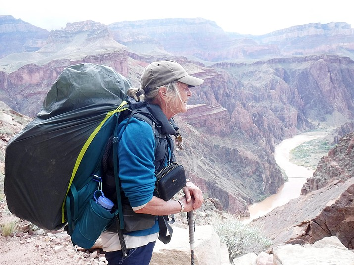 """Wendy Hodgson says it's a """"safe bet that the vast majority of the millions of people who stare over the edge into the abyss of the Grand Canyon is not wondering what kind of plants are down there."""""""
