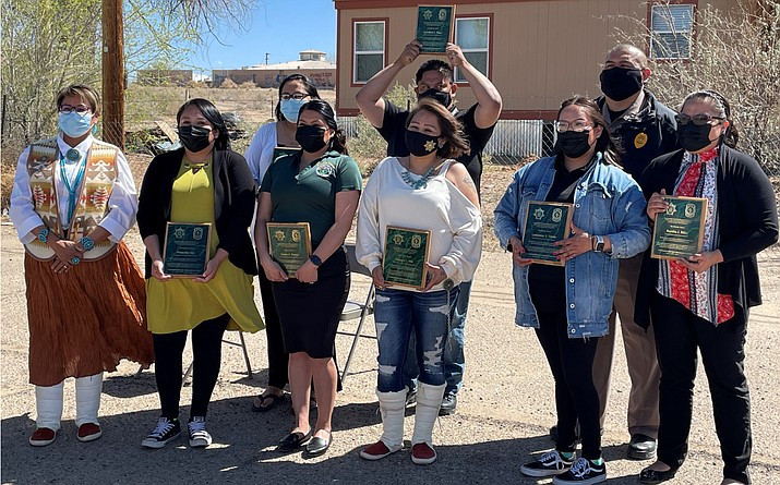 The Navajo Police Department celebrated its Public Safety Telecommunications Operators and critical support staff.  (Photo/Navajo Police Department)