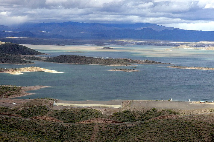 The body of a man who apparently drowned has been recovered from Lake Pleasant, shown here in 2010 Maricopa County Sheriff's officials said Monday. (Ross D. Franklin, AP File)