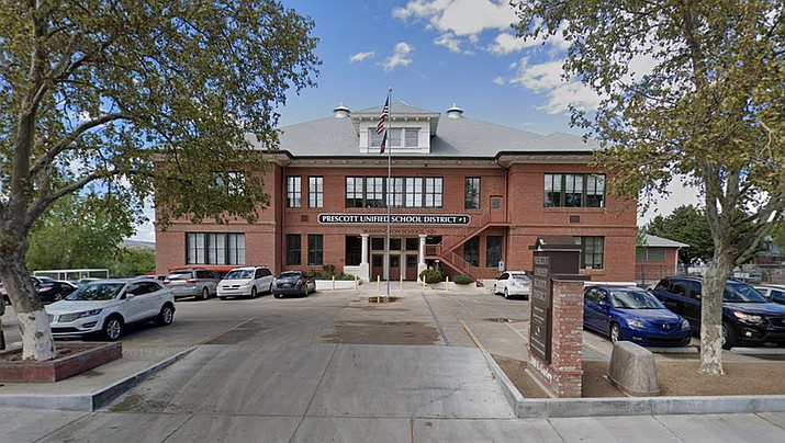 Prescott Unified School District's offices on Gurley Street in Prescott. The site was formerly Washington School. (Courier file photo)