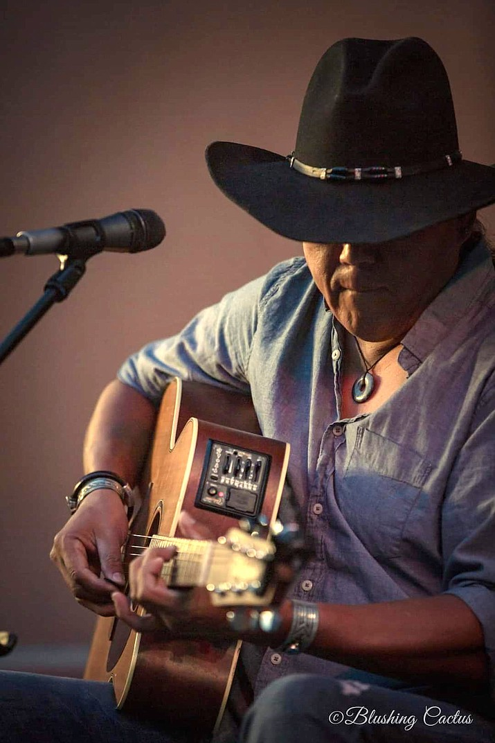 Sir Harrison Begay is eager to return to playing live. (Photo/Blushing Cactus)