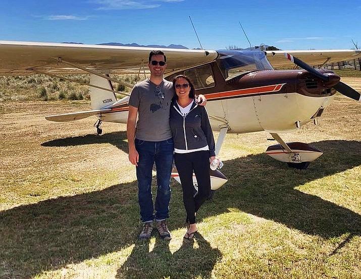 Tim Gill and Joylani Kamalu were experienced adventure flyers who were killed in a plane crash near Williams April 18. (Photo/Facebook)