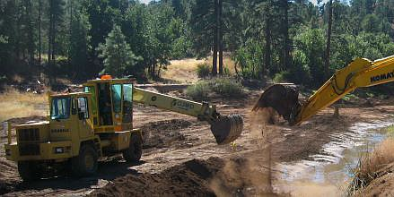 The city of Flagstaff has hired a contractor to drill the first of five new wells planned by Flagstaff to augment the northern Arizona city's water supply. (Photo/City of Flagstaff)
