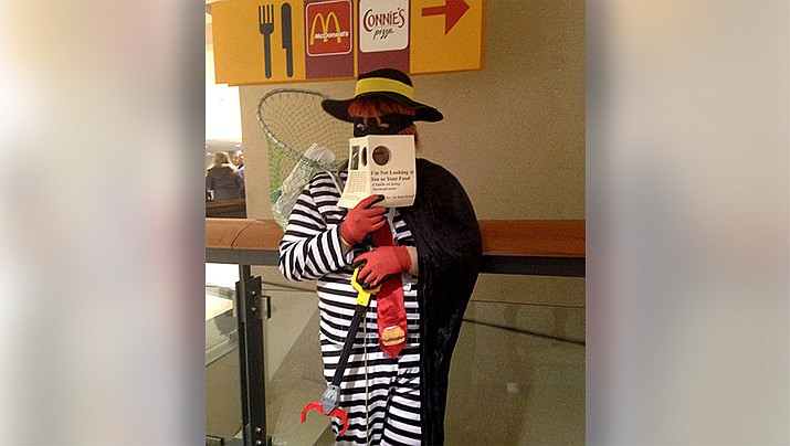 """Conservative media dubbed President Joe Biden as the """"Hamburglar"""" last weekend, after false reports that Biden might limit Americans to one hamburger a month as part of an effort to curb climate change. (Photo by Amy, cc-by-sa-2.0, https://bit.ly/3aNaJZN)"""