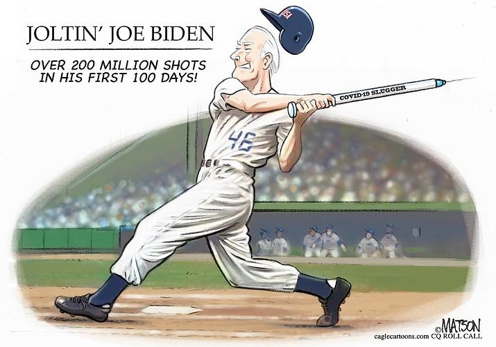 Editorial Cartoon   April 30, 2021