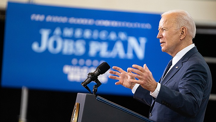 President Joe Biden discussed his first 100 days in office and laid out his plans for America in a nationally televised address to Congress on Wednesday, April 28. (White House photo/Public domain)