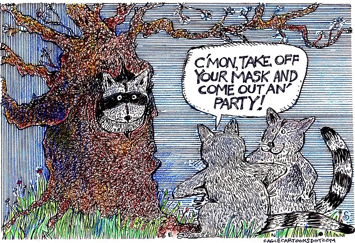 Editorial cartoon (2): May 3, 2021