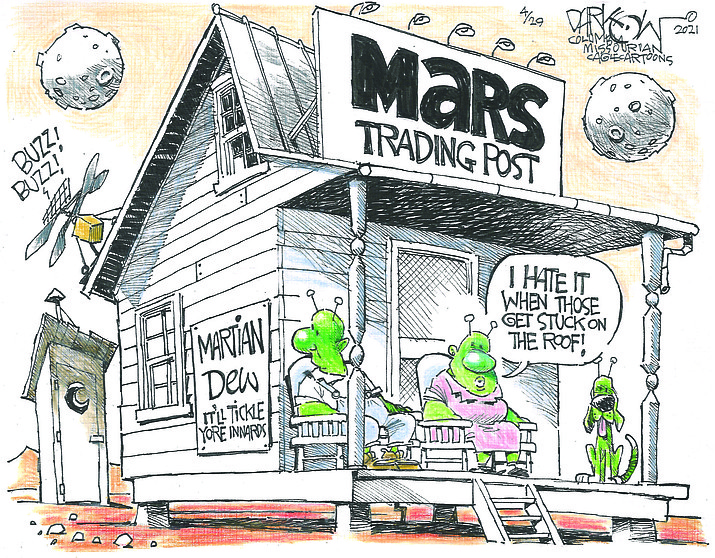 Editorial cartoon (1): May 2, 2021