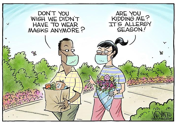 Editorial cartoon (2): May 1, 2021