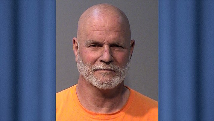 Erik Engdahl, 70, has been arrested in connection with a March 2021 road-rage incident that occurred on Walker Road near the South Shore entrance to Lynx Lake. (YCSO)