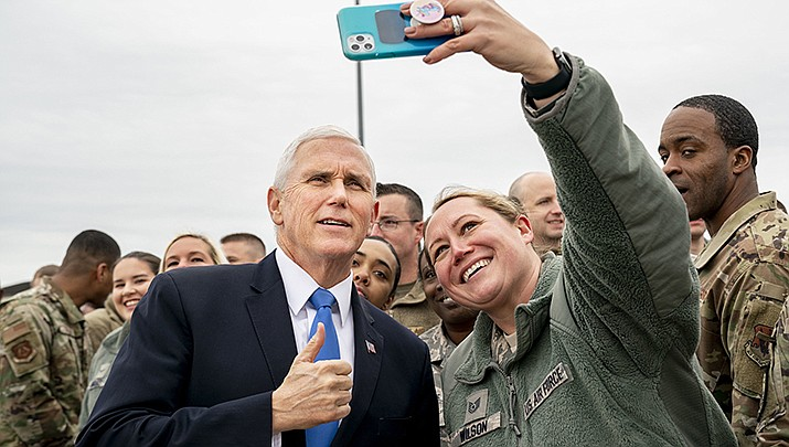 Former Vice President Mike Pence gave his first speech since leaving the White House at a dinner sponsored by a conservative Christian nonprofit in Columbia, South Carolina on Thursday, April 29. (White House file photo/Public domain)