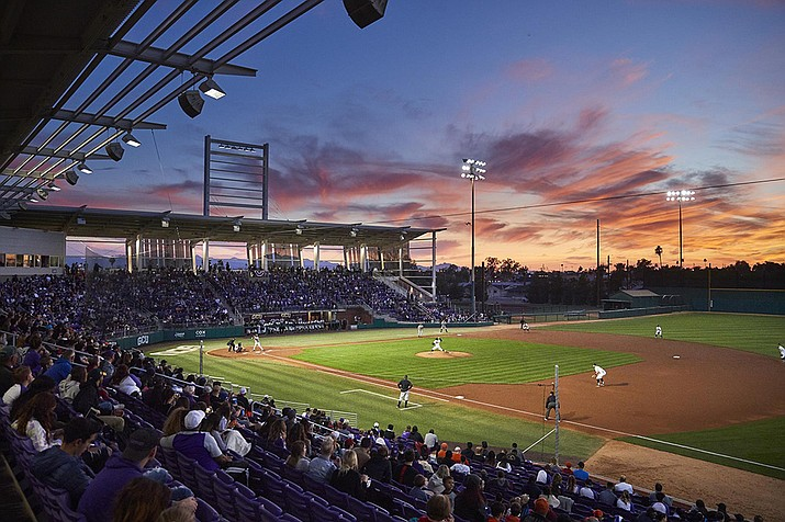 Grand Canyon University uses a system called Synergy to track in-game numbers and compile pitching and hitting reports for upcoming opponents. Baseball analytics isn't just for the pros as colleges and high schools are also going that route. (Photo courtesy of GCU Athletics)