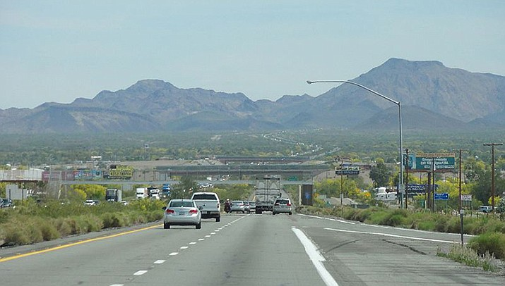 """Officials in Quartzsite are preparing for a rush of tourists after """"Nomadland,"""" which was partially filmed in the city in southern Arizona, recently won the Academy Award for best picture. (Photo by Chevy111, cc-by-sa-4.0, https://bit.ly/2QORCI9)"""