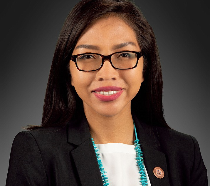 Arizona State Rep. Jasmine Blackwater-Nygren took over Arlando Teller's seat after he was appointed by the Biden-Harris administration. (Submitted photo)