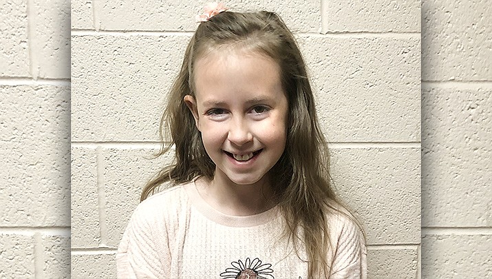 Sera from Mountain View Elementary School is this week's Humboldt Unified School District Student of the Week. (HUSD/Courtesy)