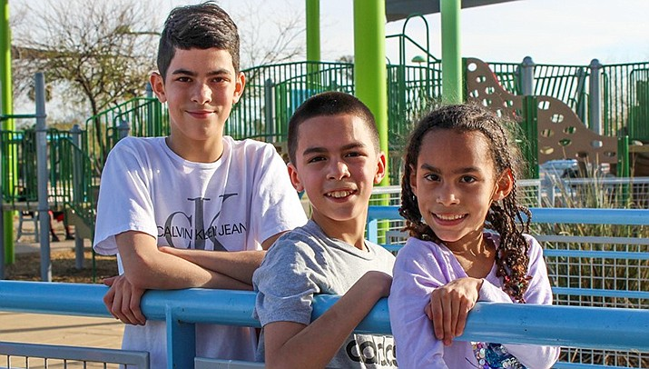 Get to know Miracle, William and Jaeden at https://www.childrensheartgallery.org/profile/miracle-william-jaeden and other adoptable children at childrensheartgallery.org. (Arizona Department of Child Safety)