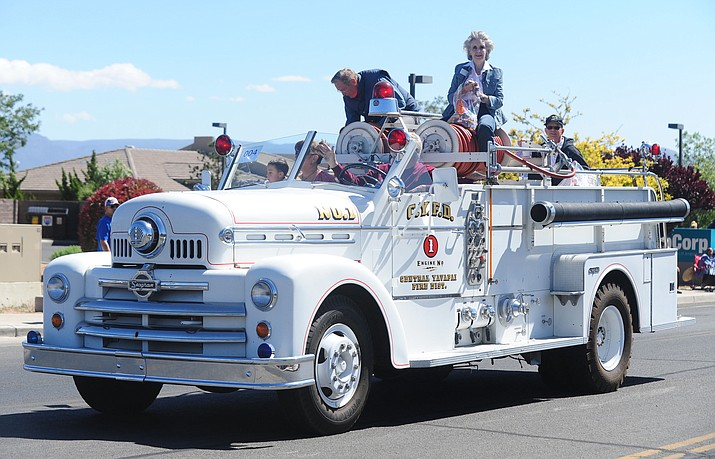 The Prescott Valley Days parade will begin at 9 a.m. Saturday, May 8, 2021. The parade route is along Florentine Road beginning at Yavapai Road and ending at the Findlay Toyota Center. (Tribune file)