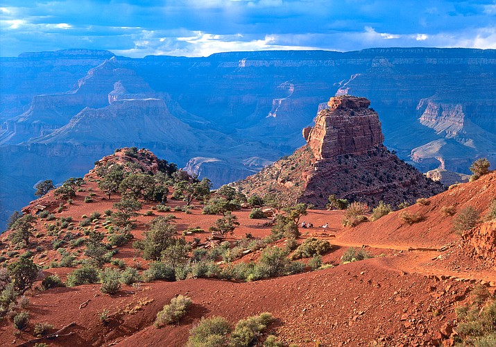 The toilets on the South Kaibab Trail will be out of service for two weeks. (Photo/NPS)