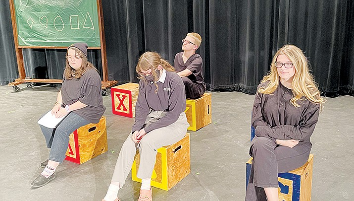 "A cast of students from Kingman and Lee Williams high schools will present the musical ""All I Really Need  to Know I Learned in Kindergarten."" (Courtesy photo)"