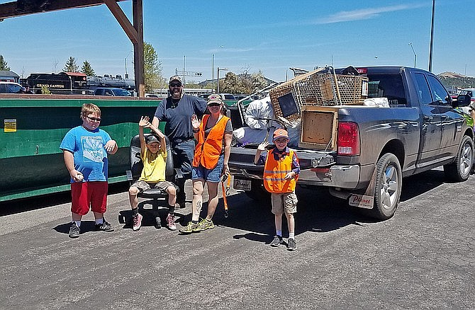 The city of Williams is seeking volunteers for Clean-up Day May 13-14 in Williams. (Submitted photo)