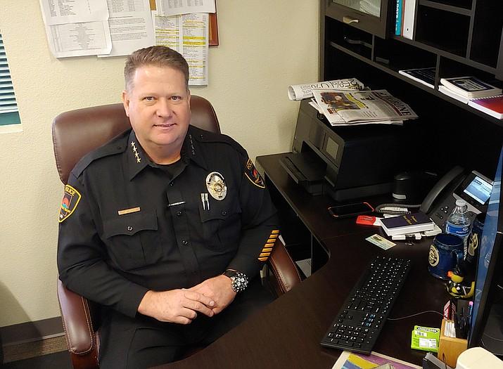 Prescott Valley Police Chief Steve Roser. (Courier, file)