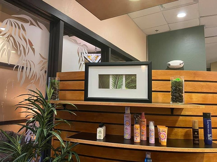 Mystique Salon and Spa, seen here, will celebrate its grand opening at Prescott Resort and Conference Center, 1500 Highway 69, from 3 to 6 p.m. Saturday, May 15, 2021. (Mystique Salon and Spa/Courtesy)