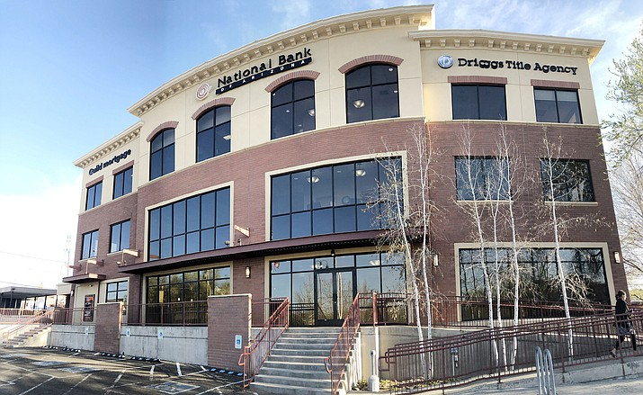 The Prescott City Council approved paying $7.55 million for a new City Hall building Tuesday, April 13, 2021. The National Bank building at 201 N. Montezuma Street will serve as a new City Hall location. The three-story bank building, which dates back to 2007, will replace the current City Hall at 201 S. Cortez, which has served as Prescott's municipal headquarters since it was built in the early 1960s. (Cindy Barks/Courier)