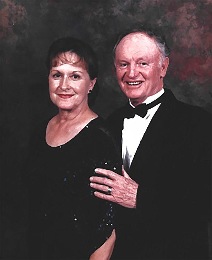Elizabeth Anne Cline Phares and Russell Junior Phares