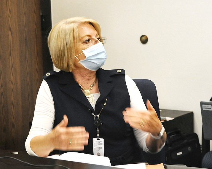 Senate President Karen Fann. (Capitol Media Services 2020 file photo by Howard Fischer)