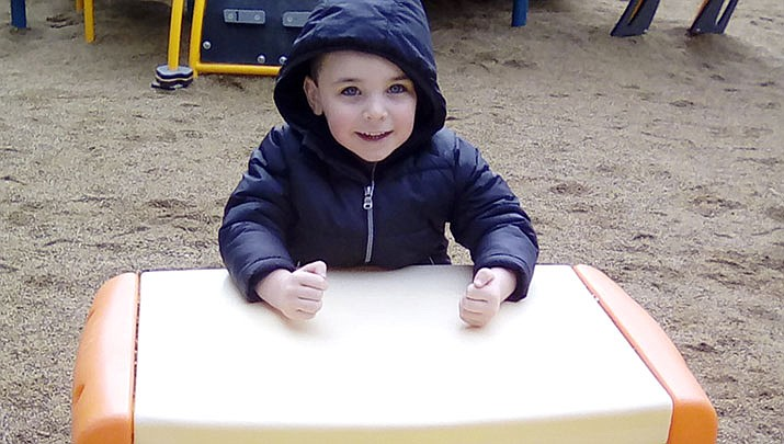 Christian from Bright Futures Preschool is this week's HUSD Student of the Week. (Humboldt Unified School District/Courtesy)
