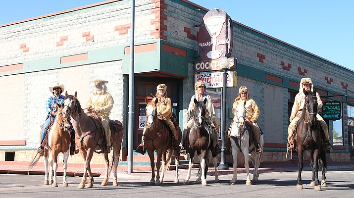 Bill Williams Mountain Men Rendezvous Ride departs Williams on 200-mile horseback ride