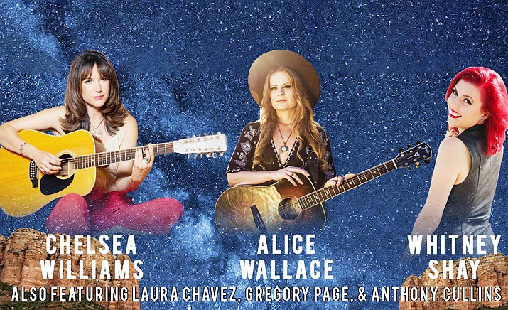 The show's all-star cast will be led by soul-blues great Whitney Shay, country/Americana star Alice Wallace, and the multi-dimensional Chelsea Williams.