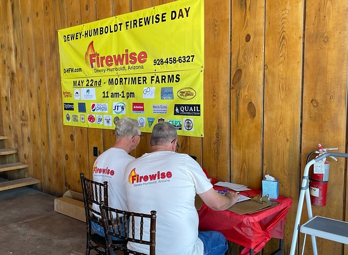 Dewey-Humboldt Firewise members recently judged entries for the nonprofit's inaugural art contest, with the winners expected to be announced during its Wildfire Safety Event from 11 a.m. to 1 p.m. Saturday, May 22, 2021, at Mortimer Farms, 12907 Highway 69 in Dewey. (Dewey-Humboldt Firewise/Courtesy)