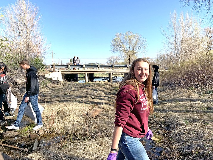 A recent push from teachers and students has revived the Williams High School Green Club. (Photo/WUSD)
