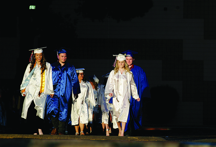About 80 Camp Verde High School seniors will graduate on May 20 at the Sam Hammerstrom Football Field. Ceremony starts at 7 p.m. Courtesy photo