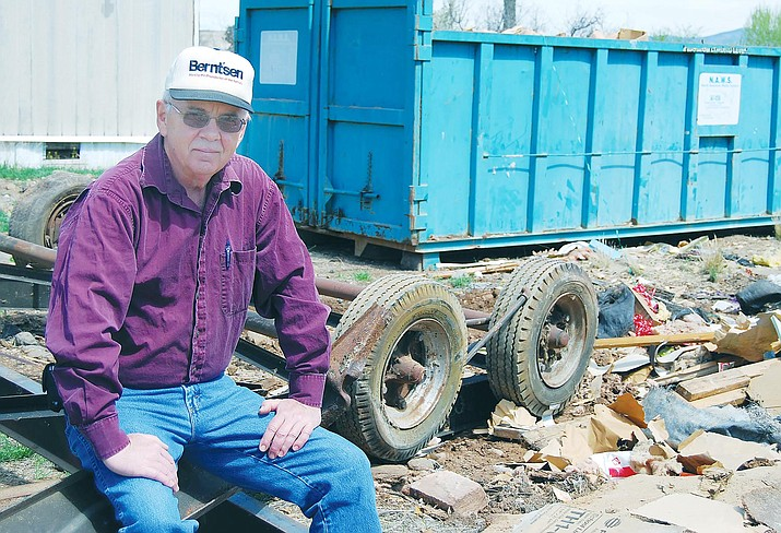 Robert Foreman has announced his retirement as Camp Verde's certified building code official. Foreman's last day with Camp Verde will be July 2. Bugle photo/Bill Helm